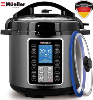 Mueller UltraPot 6Q Pressure Cooker Instant Crock 10 in 1 Pot with German ThermaV Tech for Sale in Ontario, CA