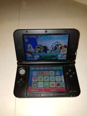 Nintendo DS 3D black XL for Sale in Germantown, MD