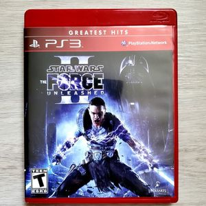 Star Wars The Force Unleashed 2 PlayStation 3 PS3 Complete with Manual for Sale in West Palm Beach, FL