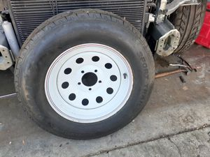 Trailer tire brand new and some use tires for Sale in San Jose, CA