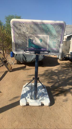 Pool side basketball hoop for Sale in Apple Valley, CA