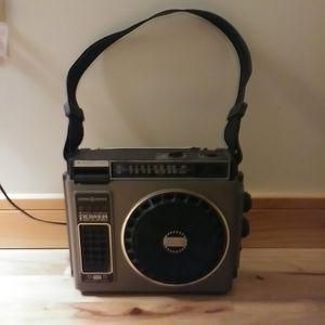FM/8 Track Portable Boombox Radio 3-5510A for Sale in Traverse City, MI