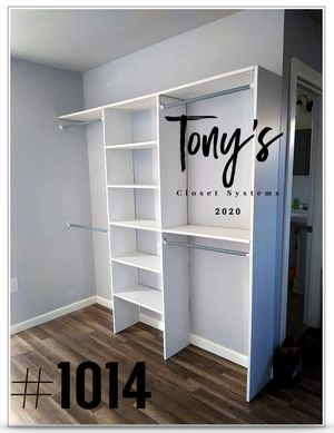 Closet System FREE INSTALLATION for Sale in Rowland Heights, CA