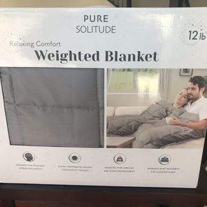 NEW 12lb. Weighted Blanket for Sale in Riverside, CA