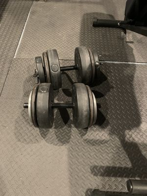 35lbs Dumbbells weights for Sale in Los Angeles, CA