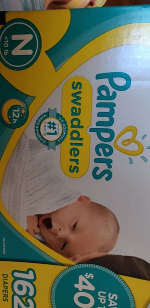162 Pampers for Sale in MERRIONETT PK, IL