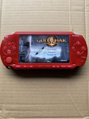 PSP Red Like New With 5,000+ Games And Movies 😎 for Sale in Garden Grove, CA