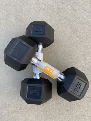 Dumbbells 15 lbs Pair NEW for Sale in Aliso Viejo, CA