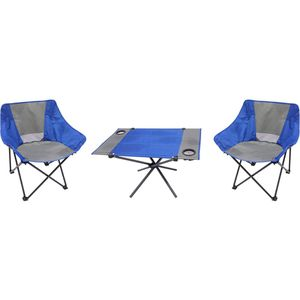 Folding Camping Table and Chair Set Three Piece Kitchen Dining Outdoors RV Portable for Sale in Chicago, IL