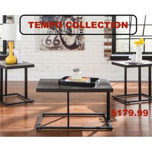 3 PC Coffee Table Set, Bronze for Sale in Pico Rivera, CA
