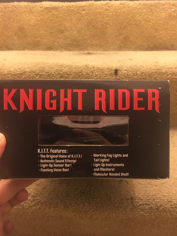 Knight Rider 1/15 electronic K I T T  Diamond Select for Sale in Richmond,  CA - OfferUp