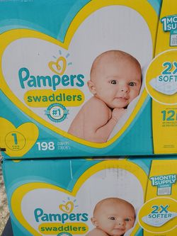 Pampers, Huggies, Up&up, Members Mark From Newborn To Size 1 for Sale in Santa Ana,  CA