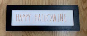 Rae Dunn HAPPY HALLOWINE Sign Halloween Sign for Sale in San Bernardino, CA