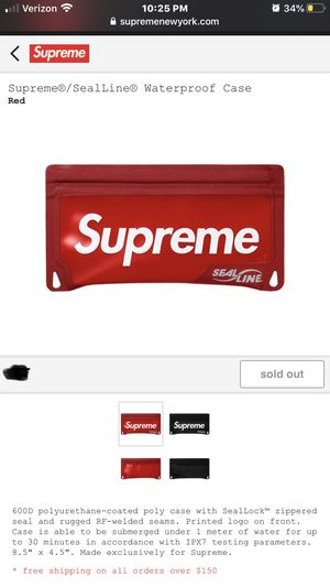 Supreme Sold Out Waterproof Case for Sale in Fresno, CA