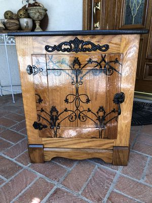 """Ice Box"" Style Cabinet or Side Table for Sale in Murrieta, CA"
