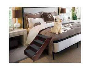 Wood Pet Stairs Dog Ramp Cat Animal Folding Portable Step Ladder Wooden Steps for Sale in Houston, TX