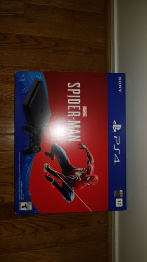 Playstation 4 PS4 Spiderman - New and Sealed for Sale in Vienna, VA
