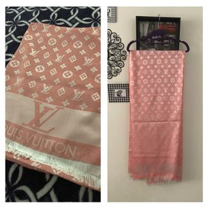 Cashmere Silk Louis Vuitton (XL) Scarf/Shawl Brand New (Available in Rose Gold, Black, Dark Blue) for Sale in Torrance, CA