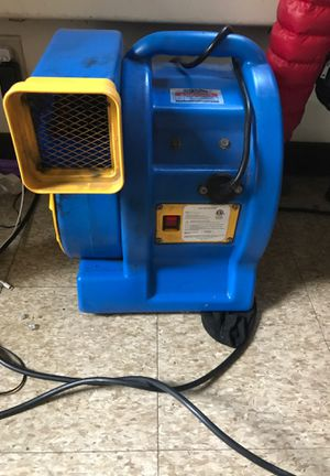 IN-FLATE BLOWERS/ Carpet Dryer for Sale in Northwood, OH