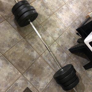 Bench Press Rack Weights for Sale in Mountlake Terrace, WA