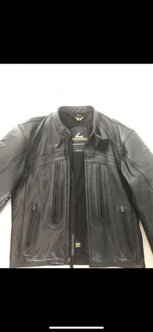 Motorcycle protective leather jacket like new for Sale in Frisco, TX