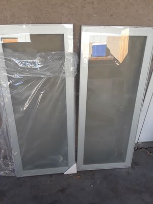 Glass Kitchen cabinet doors for Sale in Las Vegas, NV