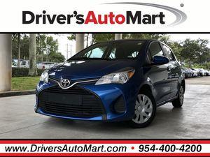 2017 Toyota Yaris for Sale in Davie, FL
