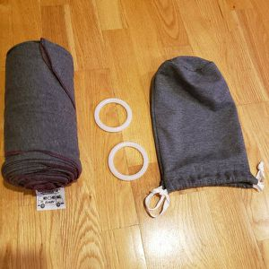 HAUL'A Baby Grey Baby Carrier | Ring Sling, Baby Wearing Wrap, Belly Binder & Maternity Belt |4-in-1 for Sale in Framingham, MA