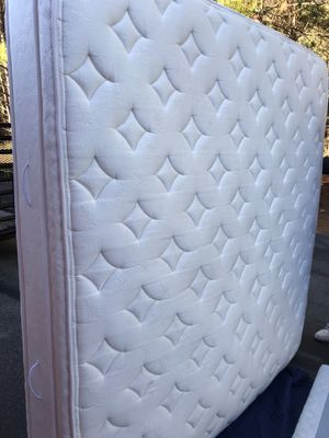 Orthopedic Eurotop 2 sides-KING size mattress ONLY😀REDUCE=FIRM PRICE! for Sale in Garner, NC
