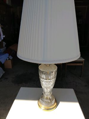crystal lamp, nightstand, chairs, suitcase for Sale in Carrollton, TX