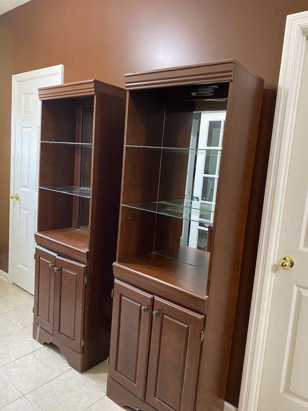 2 Matching Bookshelves