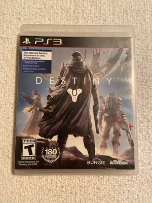 """PS3: """"Destiny"""" (over 180 awards) for Sale in Pawtucket, RI"""