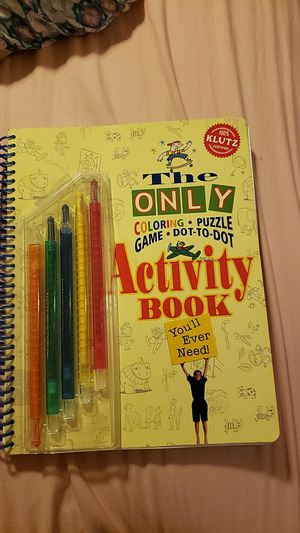 Activity Book- coloring, puzzle, game, dot to dot for Sale in Miami, FL