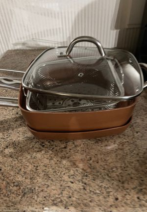 Copper Chef Cookware for Sale in Miamisburg, OH