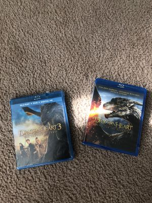 Dragon Heart and Dragon Heart 3 DVD Brand New for Sale in Atlanta, GA
