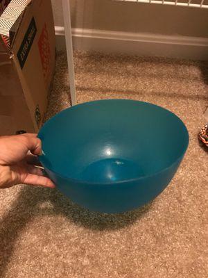 Big blue plastic mixing bowl for Sale in Fairfax, VA