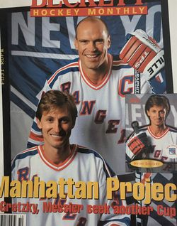 Beckett October 1996 issue # 73 Manhattan Project Gretzky Messier seek another Cup for Sale in Boston,  MA