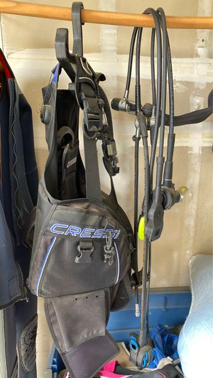 Scuba dive gear weight vest and regulator. for Sale in Vacaville, CA