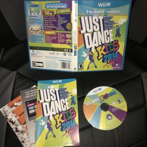 Just Dance Kids 2014 (Nintendo Wii U, 2013) Complete w/Manual CIB for Sale in Murrieta, CA