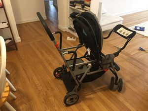 Joovy Caboose double stroller with car seat adapter for Sale for sale  Englewood, NJ