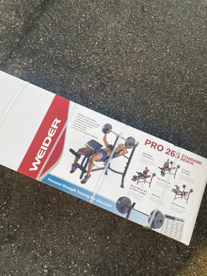 Weight Lifting Bench Weider for Sale in Riverside, CA