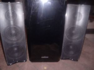 Samsung speakers and subwoofer for Sale in Columbus, OH