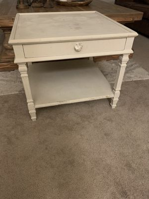 Side Table with drawer for Sale in Fresno, CA