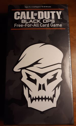 COD Black Ops Free for All Card Game for Sale in Cheektowaga, NY
