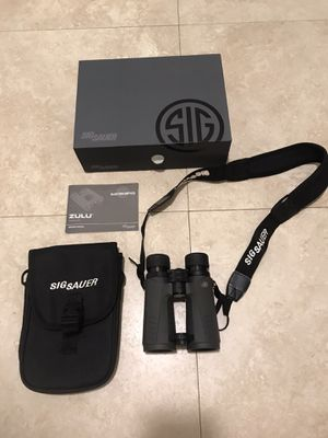 Sig sauer zulu 7 binoculars for Sale in Miami, FL