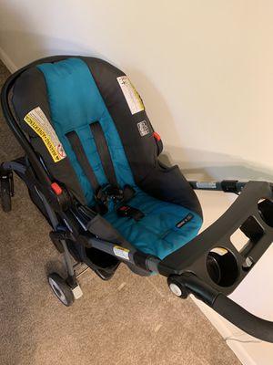 Graco SnugRide 30 click connect front adjust Infant Car Seat, Finch for Sale in Glen Burnie, MD