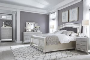 🌲Ashley Coralayne Silver Upholstered Bedroom Set for Sale in Berwyn Heights, MD