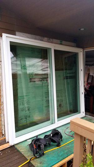 2 patio door sliders 8ft for Sale in Woodinville, WA