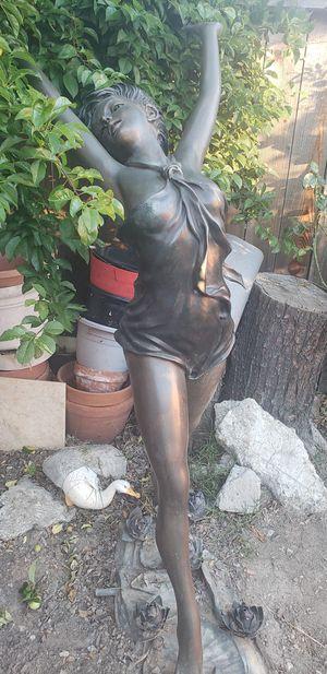 Glorious Lady! Bronze Garden (Fountain) Statue. for Sale in Pinole, CA