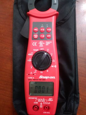 Snap on tools EEDM575D CLAMP METER for Sale in Clearwater, FL